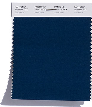 PANTONE 19-4034 Sailor Blue